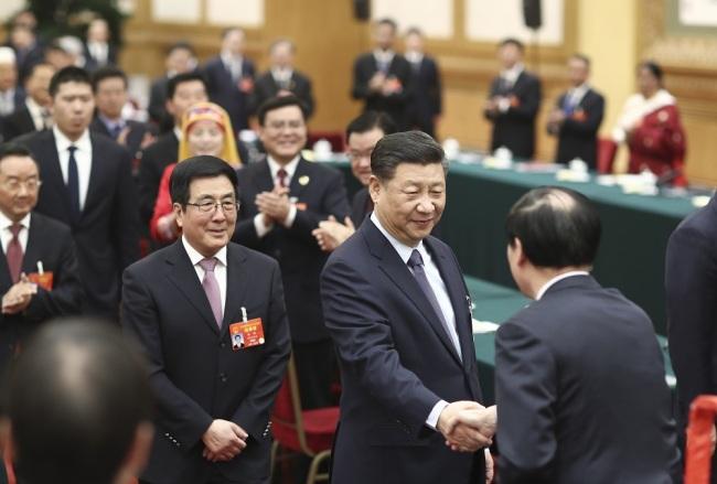 Si Đinping razgovarao sa poslanicima iz provincije Gansu_fororder_Gansu2