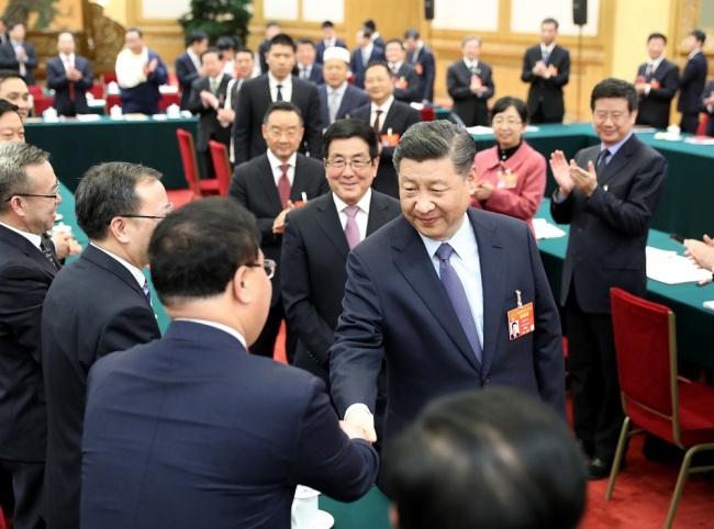 Si Đinping razgovarao sa poslanicima iz provincije Gansu_fororder_Gansu1