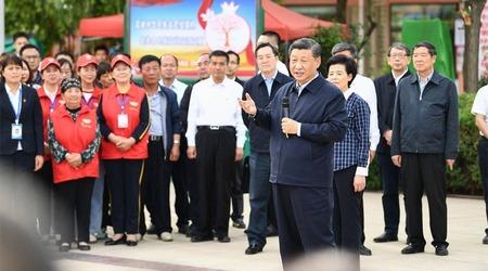 Si Đinping posetio region Ningsija