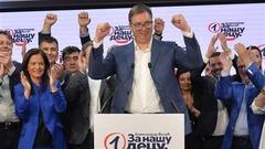 Srpska napredna stranka pobedila na izborima u Srbiji_fororder_vucic0622